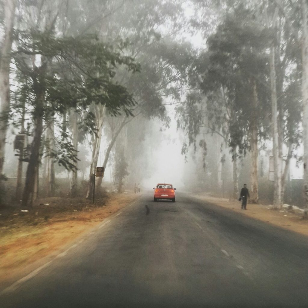 Scenic Drive to Nandi Foothills