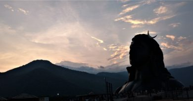 Sunset view @ AdiYogi Statue (Copy)