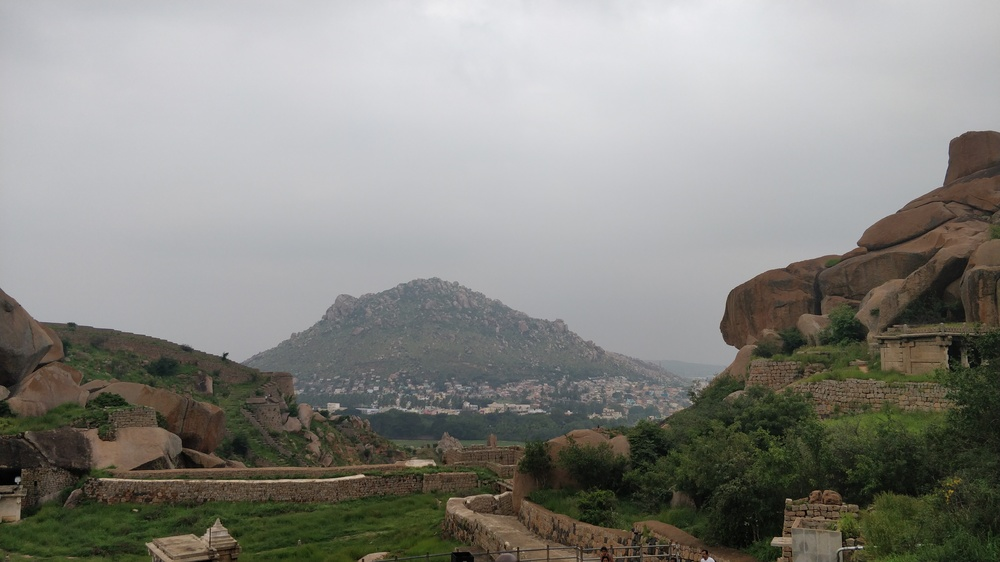 View from Chitradurga Fort
